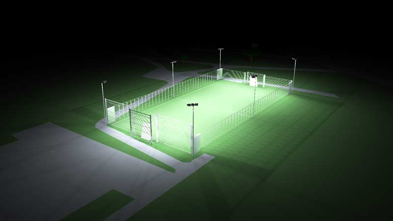Sports Pitch Design