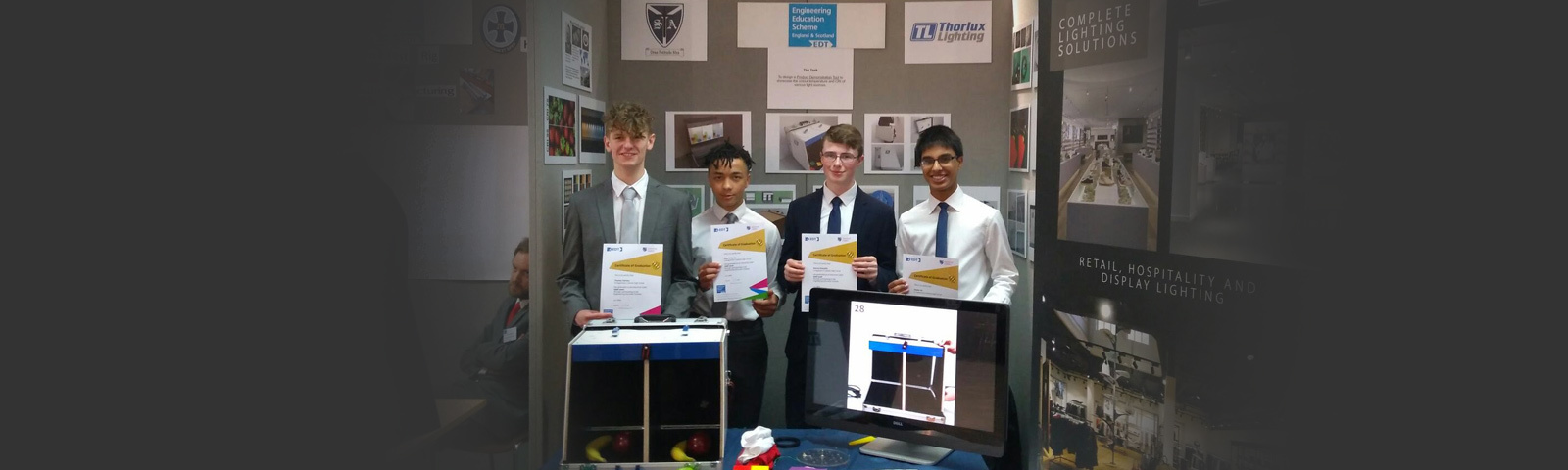 Thorlux and St Augustine's Catholic School celebrate EES success gallery image