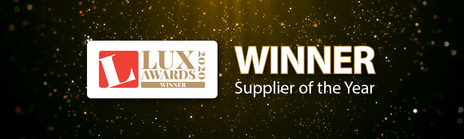 Thorlux celebrates winning Supplier of the Year at the Lux Awards 2020 gallery image